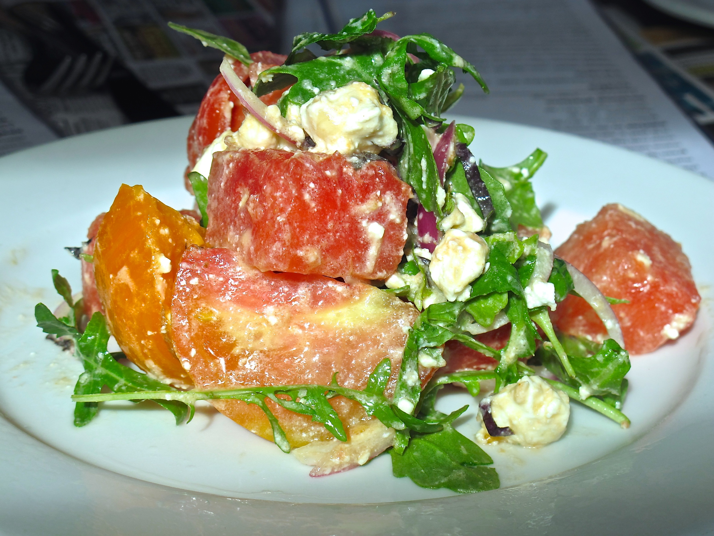 The Hungry Cat watermelon tomato salad