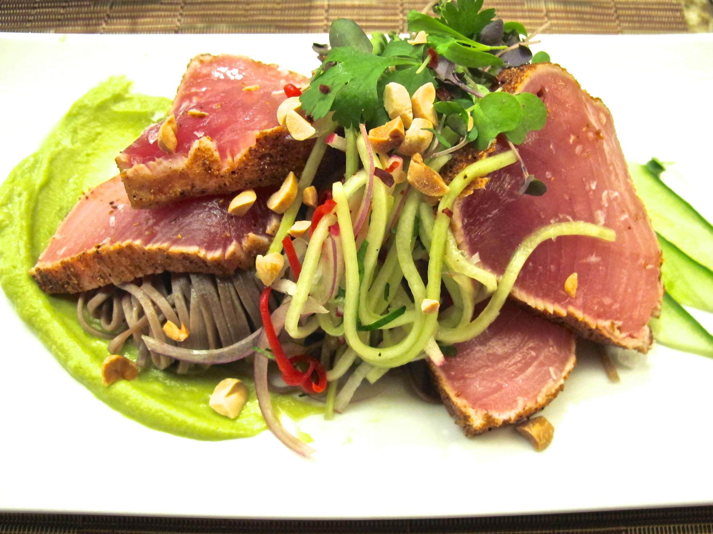 Jory's tuna tataki