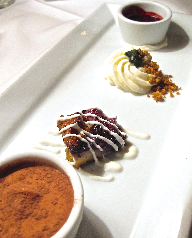 Joel Palmer House dessert