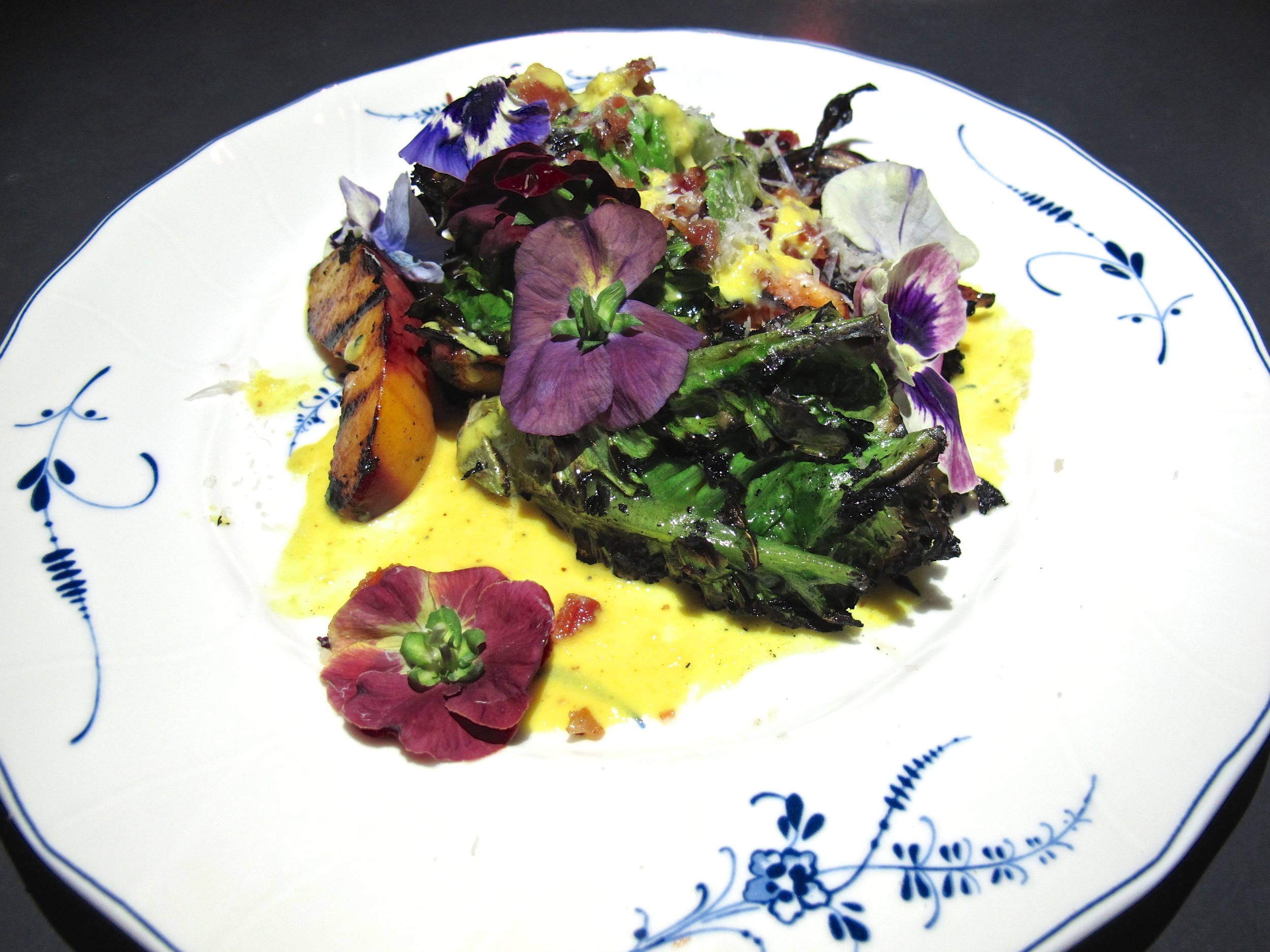 Commissary Line Hotel grilled greens