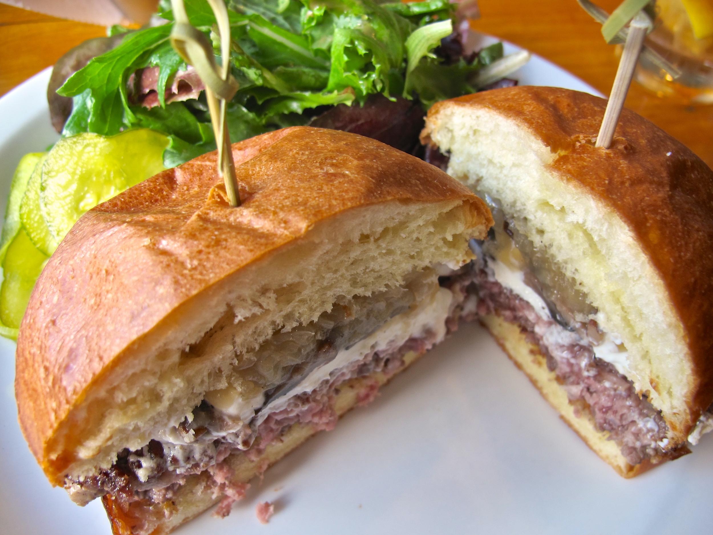 Marin Sun Farms burger