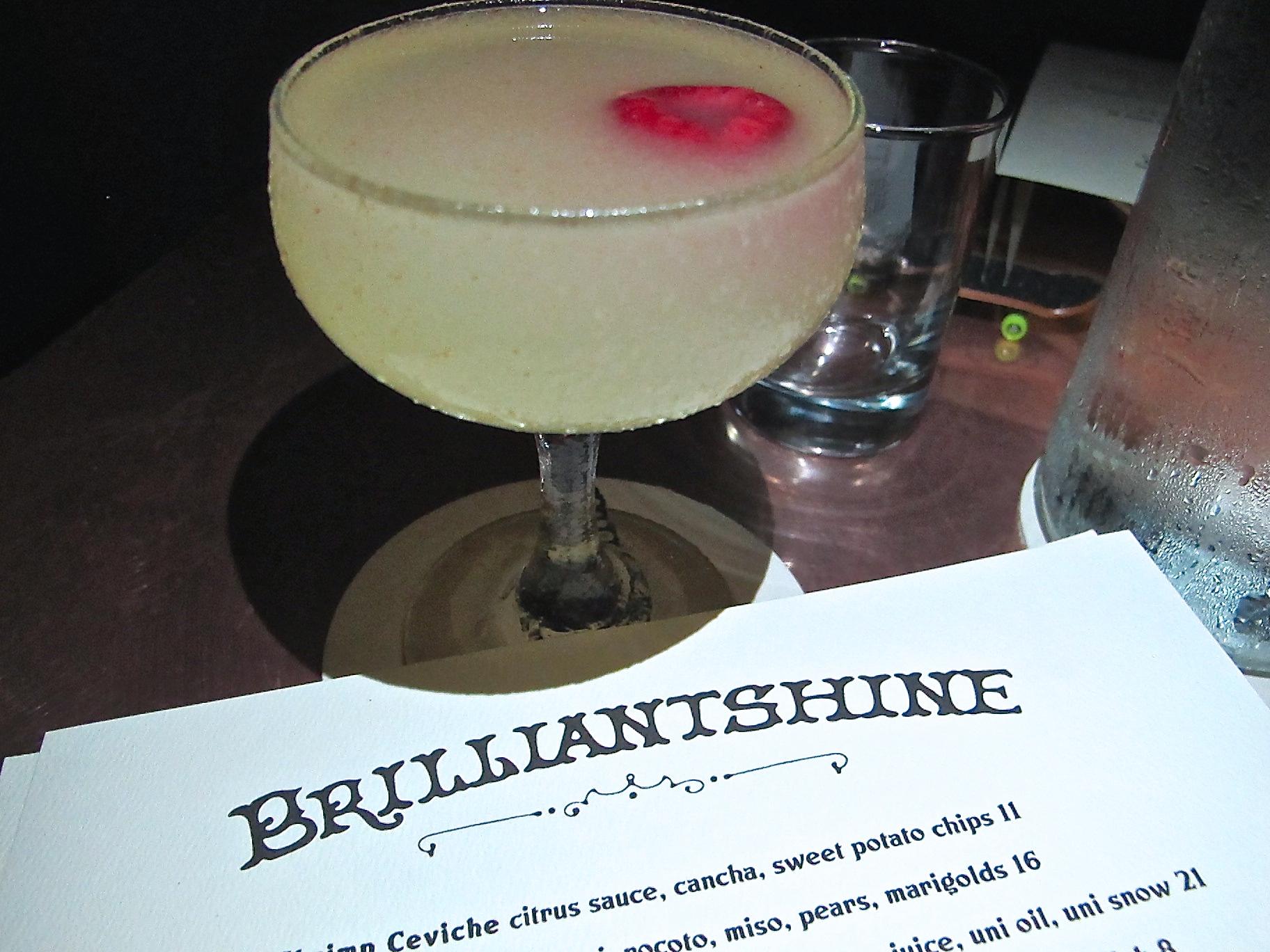 Brilliantshine cocktail
