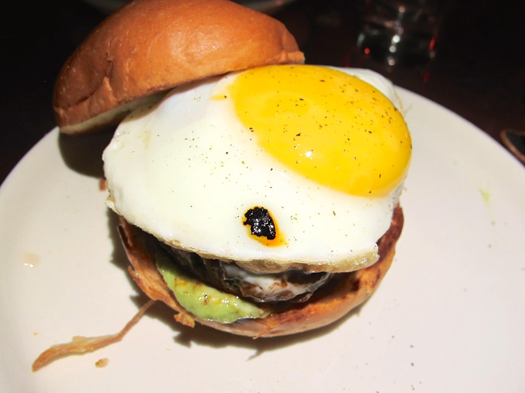 Brilliantshine lamb merguez burger