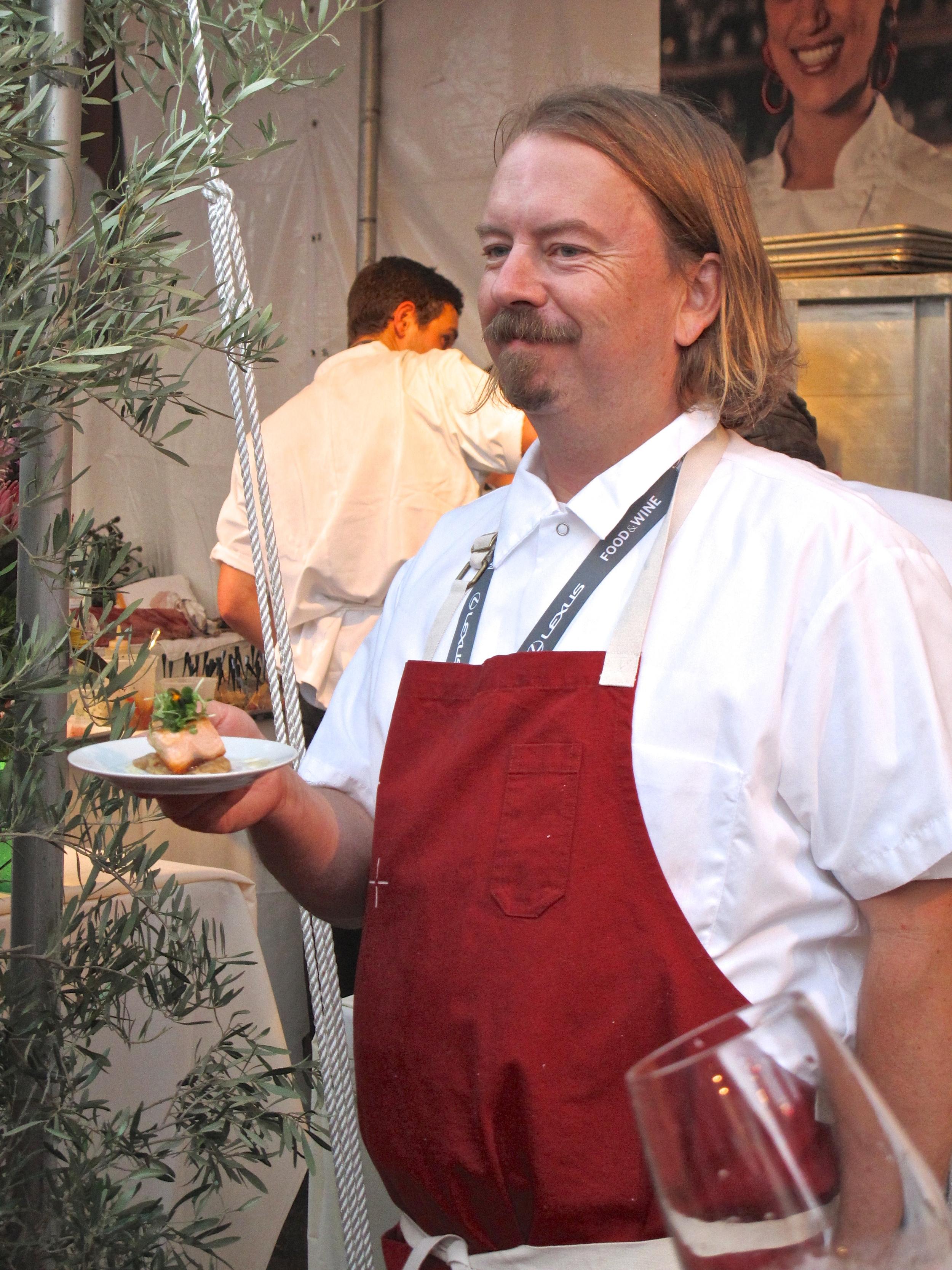 Neal Fraser at LA Food & Wine