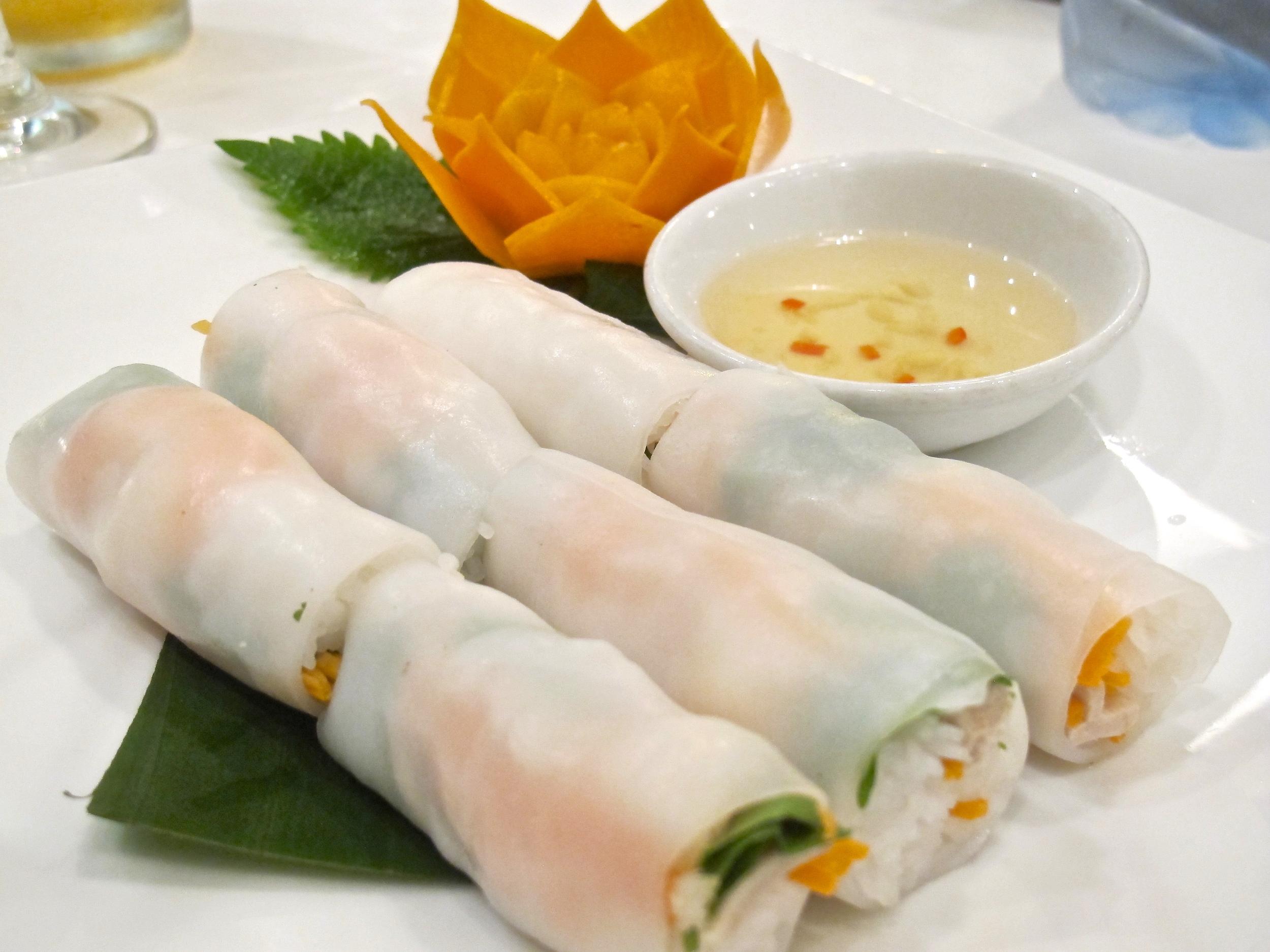 Hanoi, Vietnam egg rolls.JPG