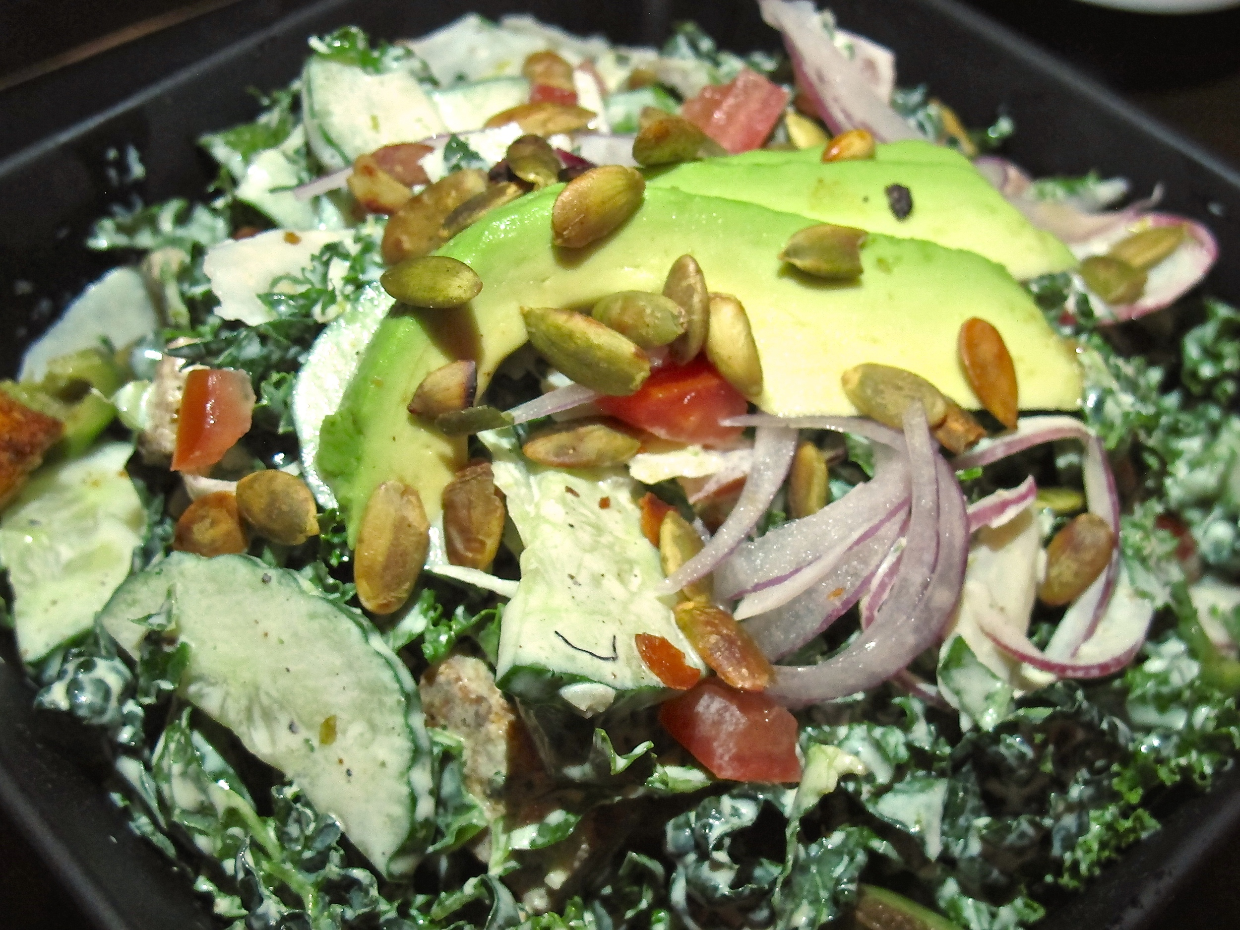 Ashland Hill kale salad