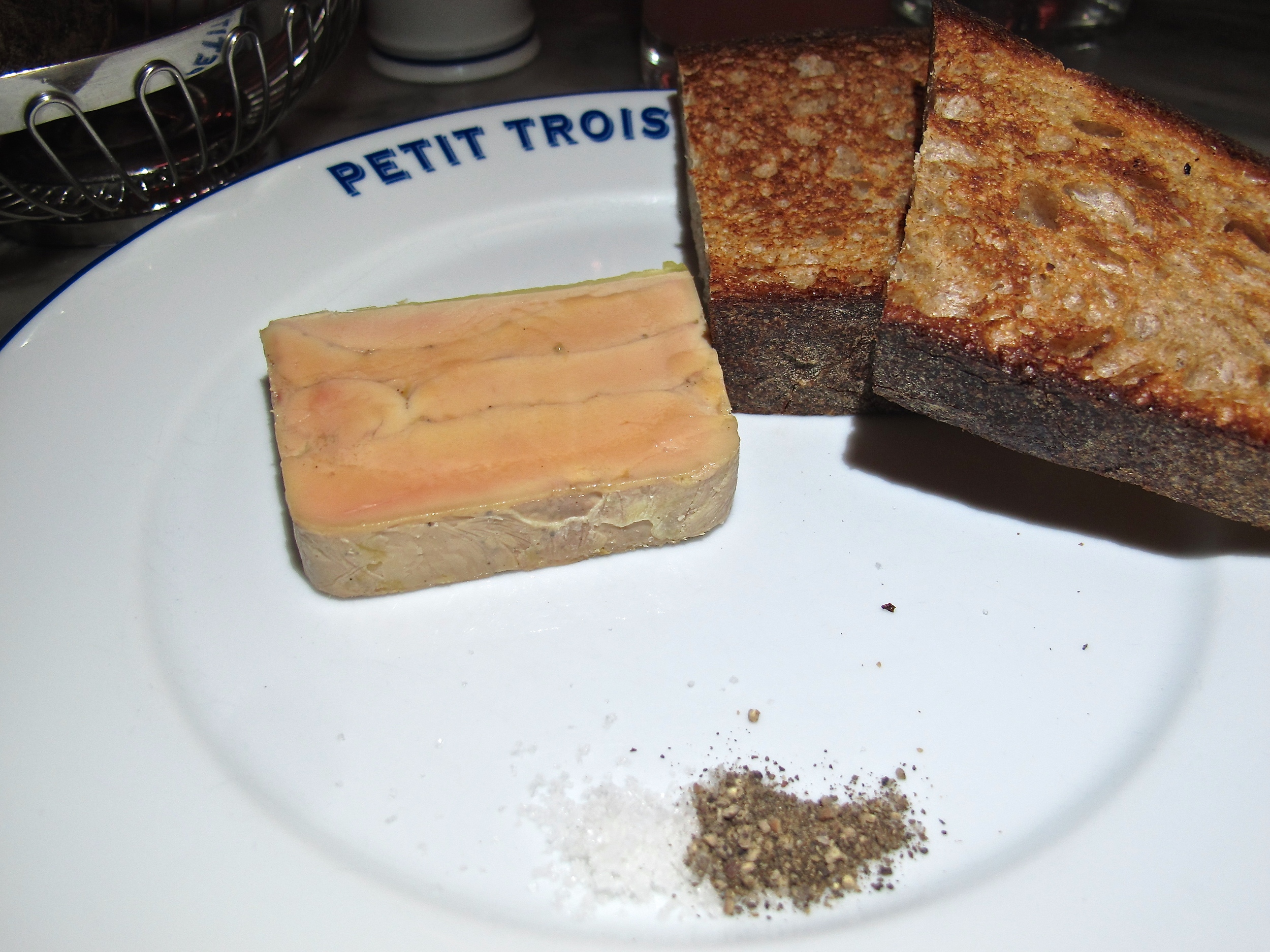 Petit Trois foie gras