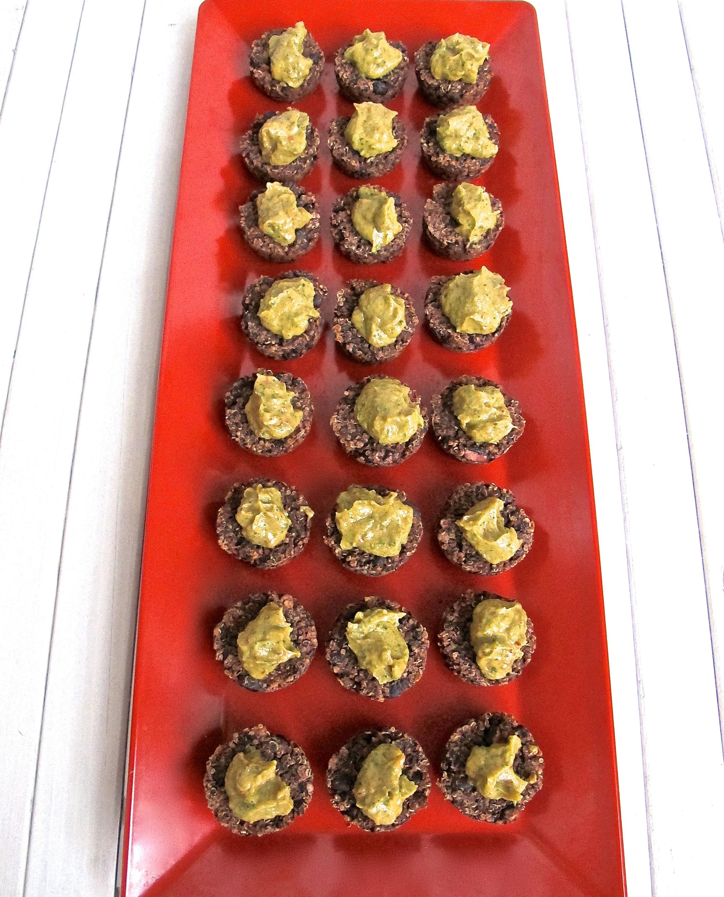 Spicy Black Bean Quinoa Patties {GF, Vegan}