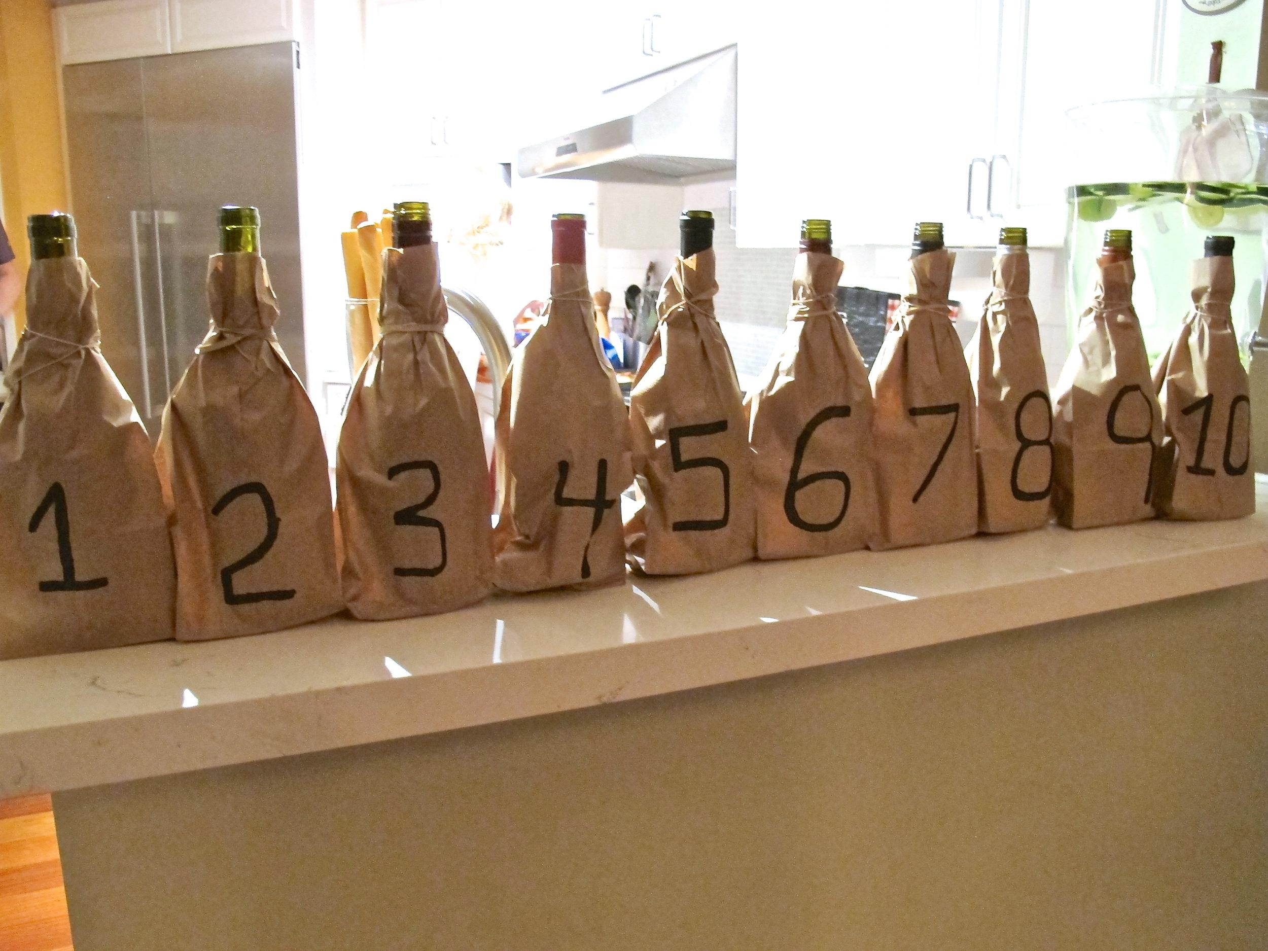 Pinot Noir blind wine tasting
