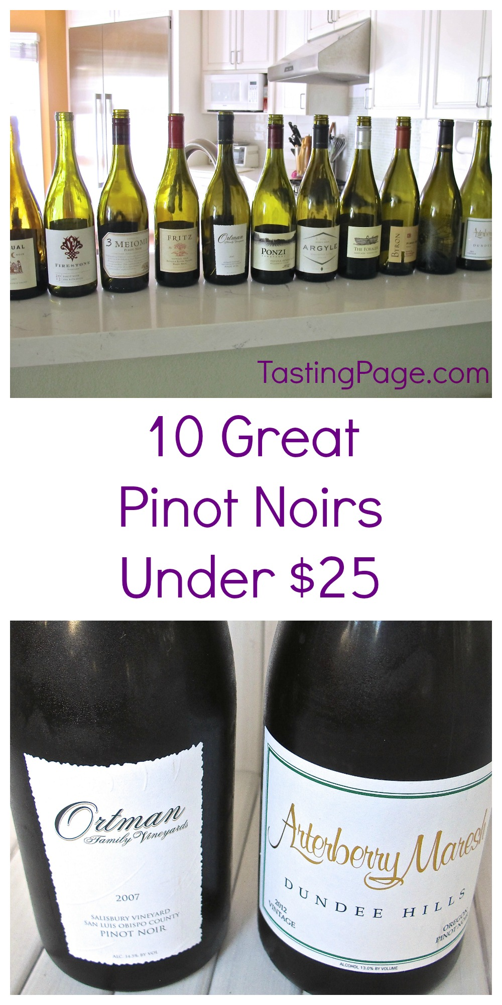 10 Great Pinot Noirs Under $25