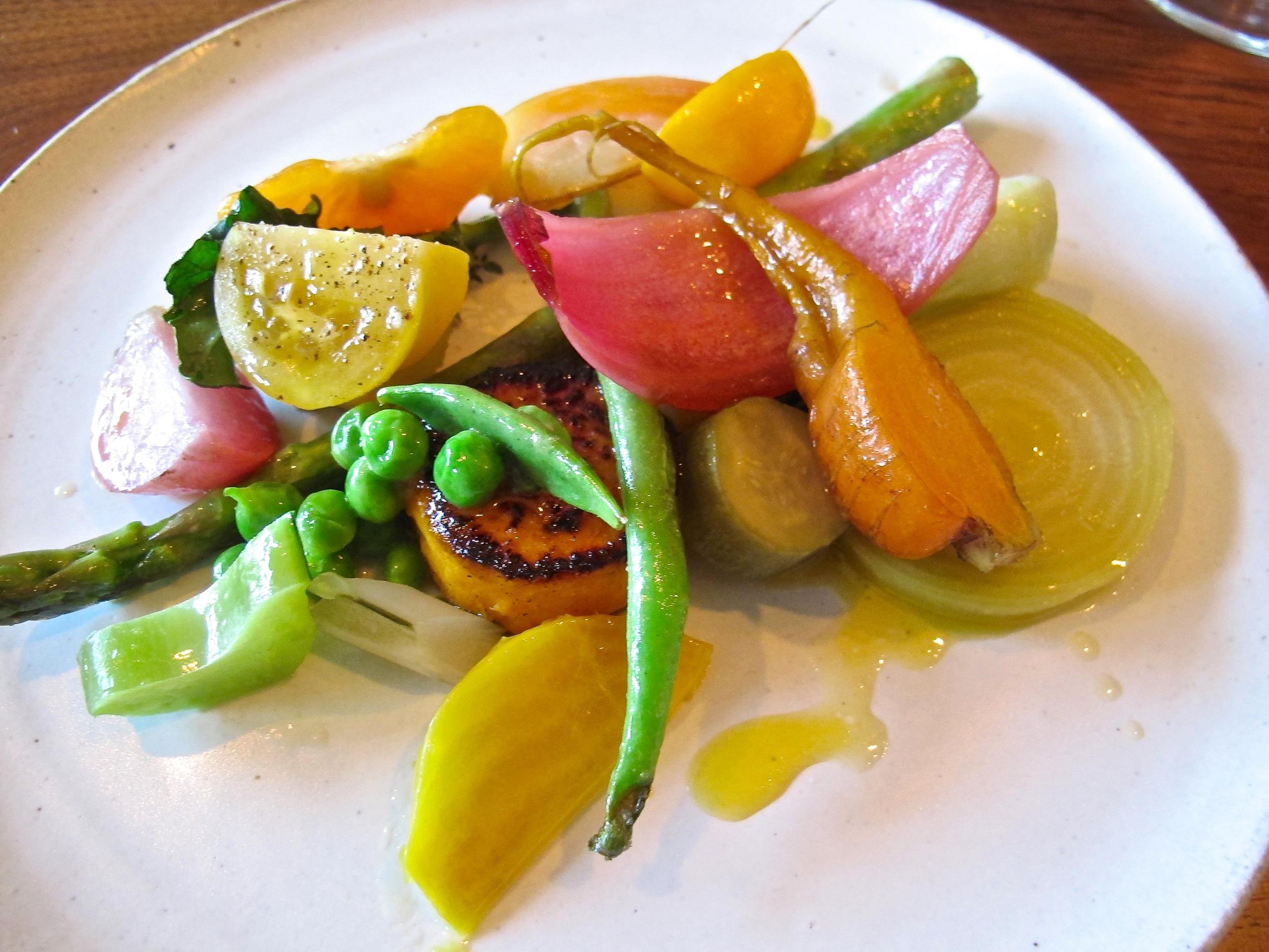 Gary Menes' Le Comptoir fruit and vegetable medley
