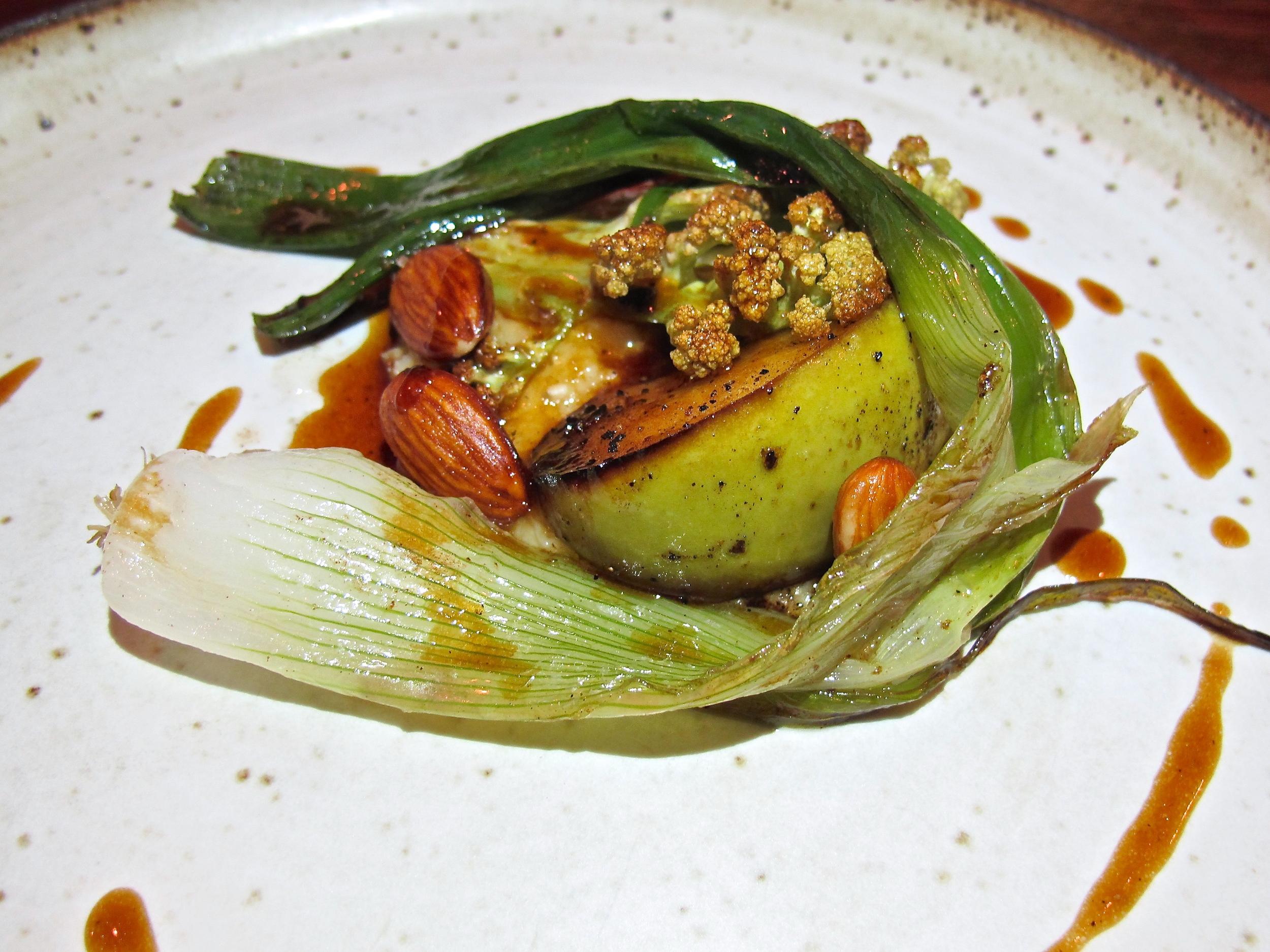 Gary Menes' Le Comptoir vegetables