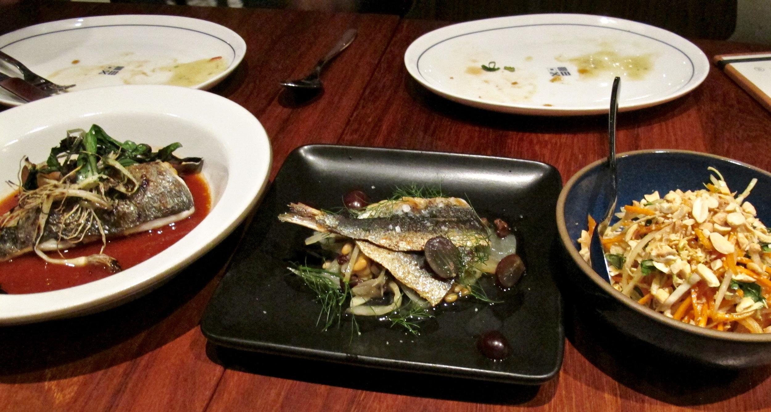 Santa Monica Yacht Club seafood