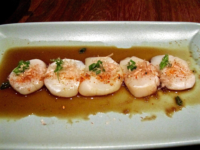 Santa Monica Yacht Club raw scallops