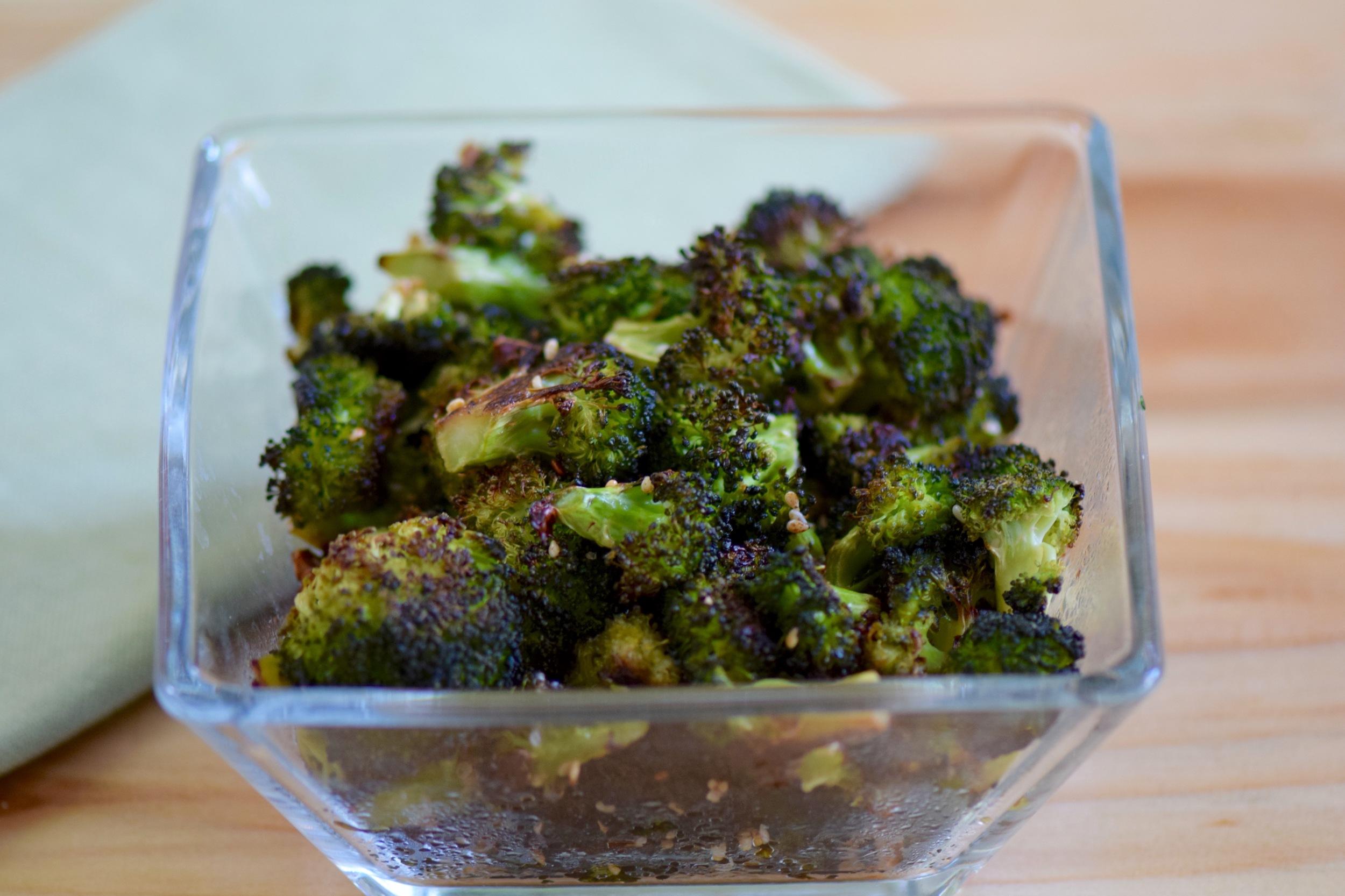 Asian Roasted Broccoli