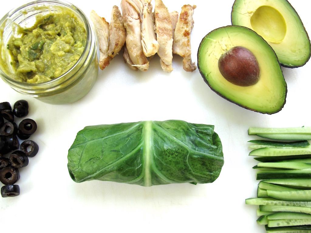 Gluten Free Collard Green Chicken Roll Up - Tasting Page