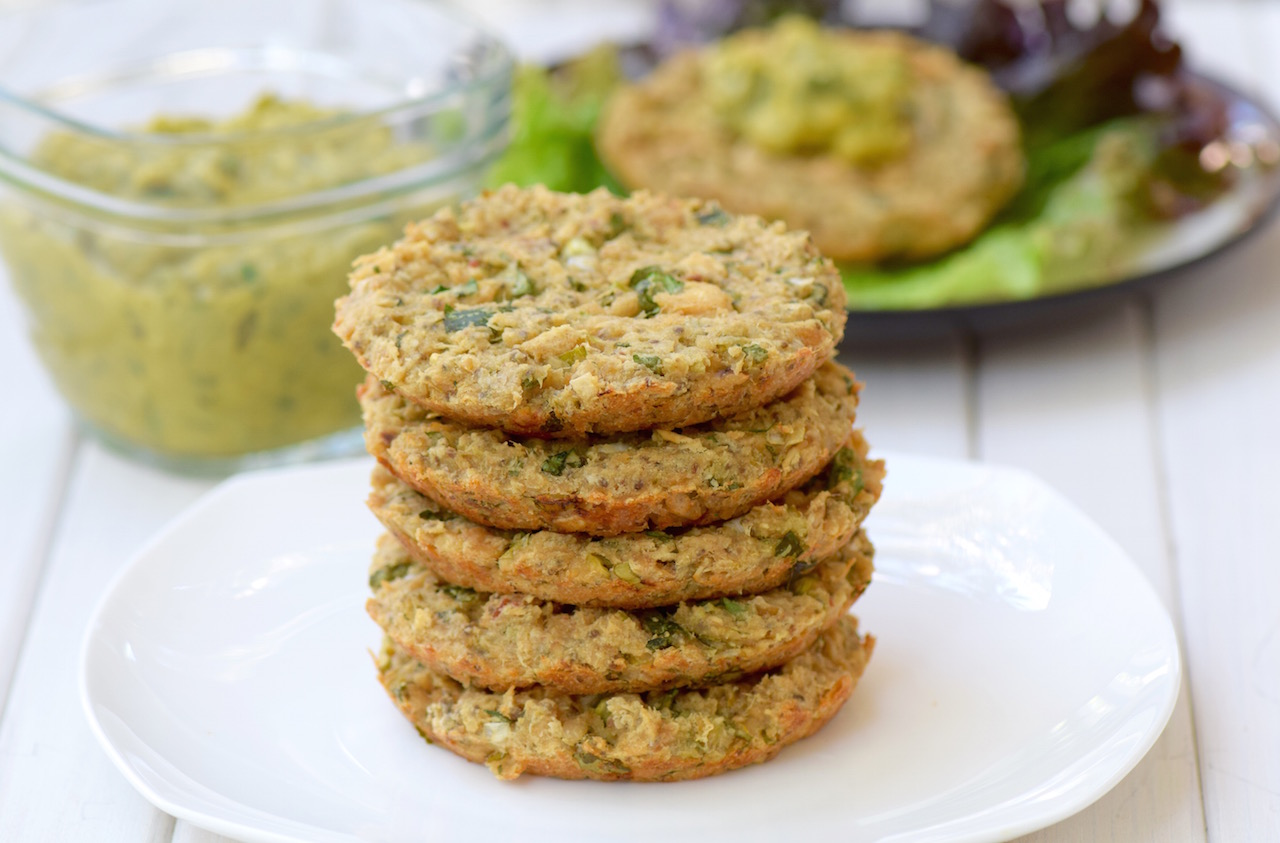 Gluten Free White Bean Tuna Patty