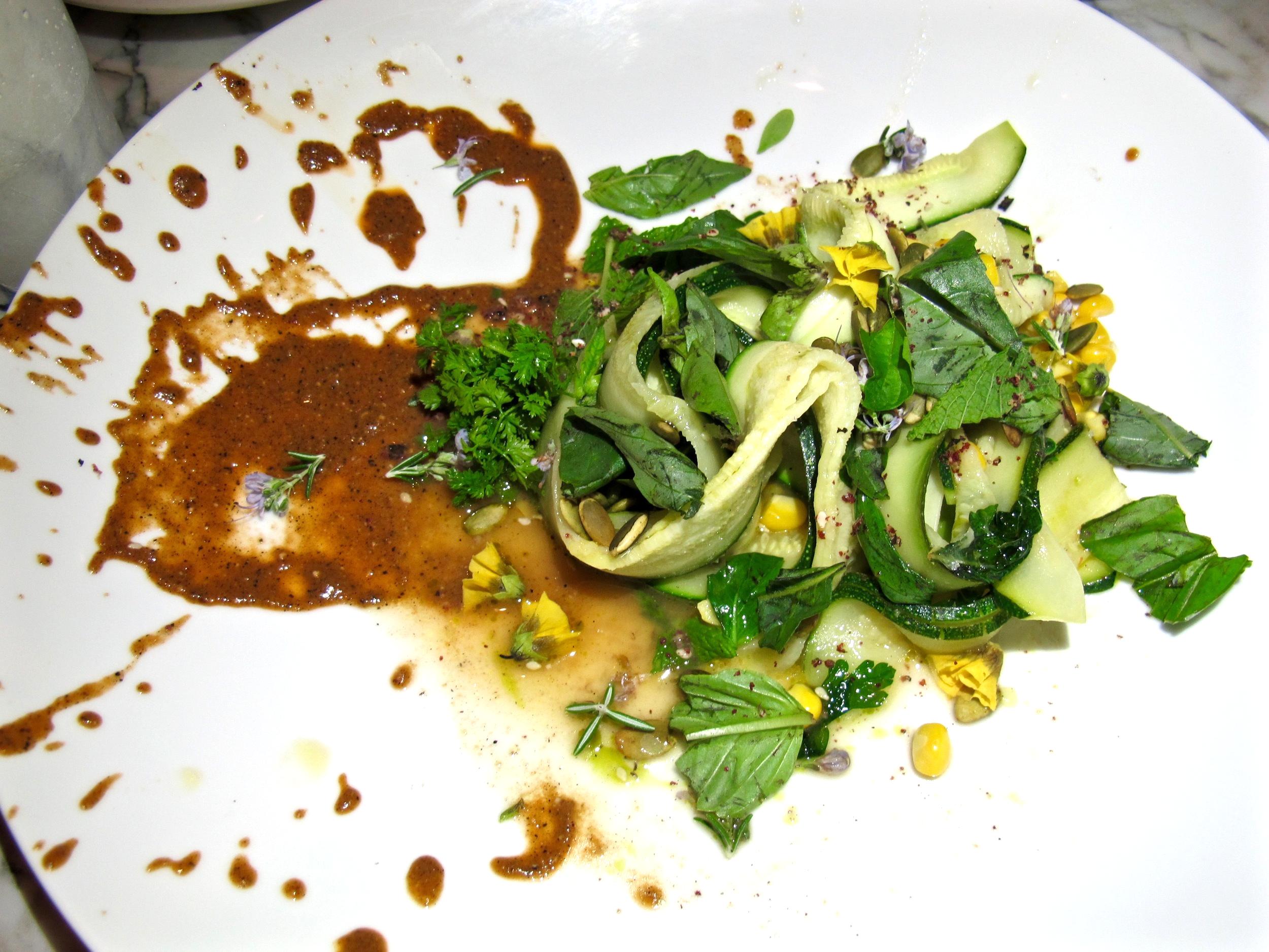 Plant Food and Wine Zucchini Tagliatelle