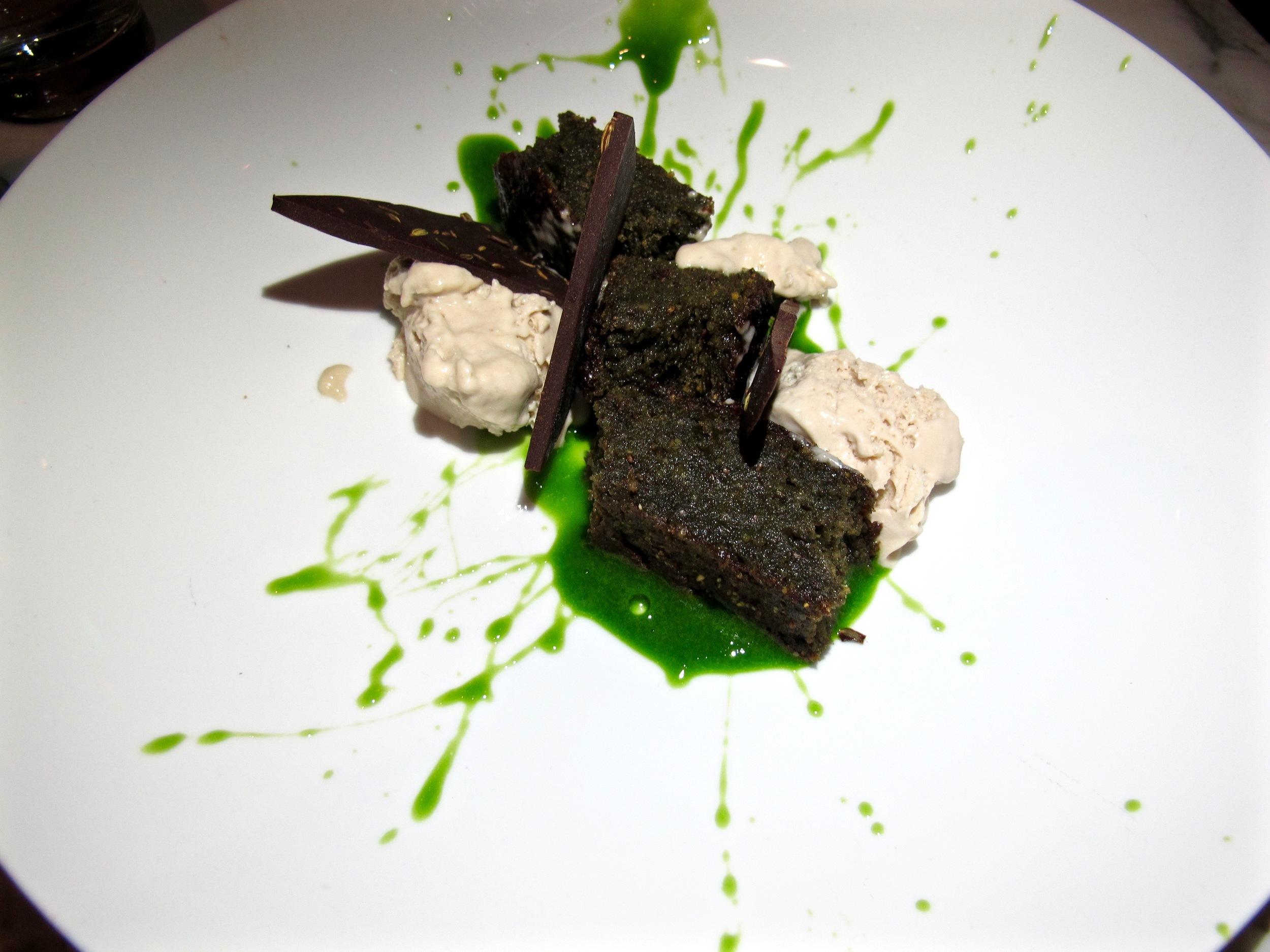 Plant Food and Wine chlorella olive oil cake