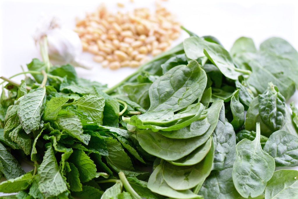 Spinach Mint Pesto