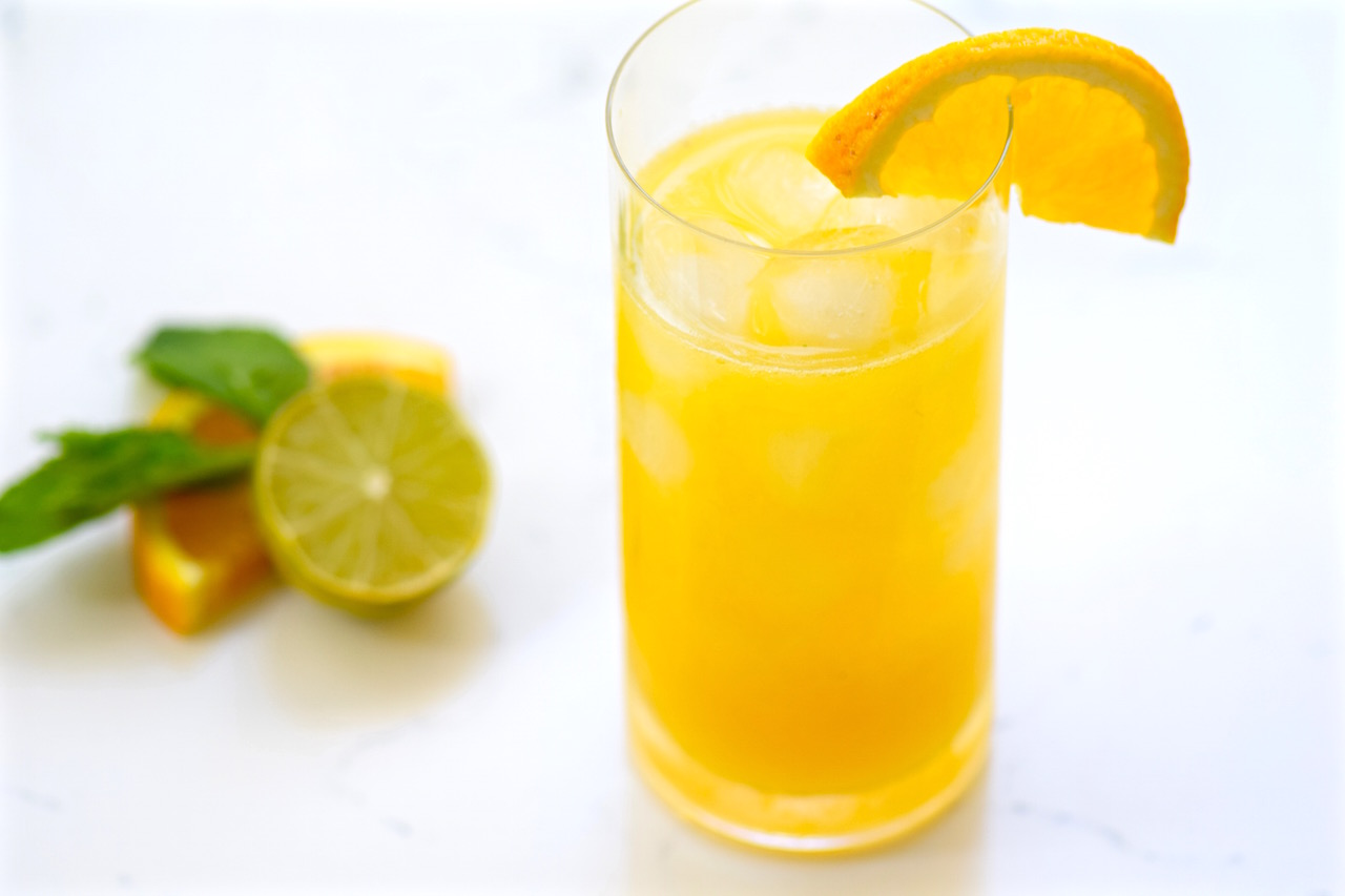 Spicy Mango Citrus Tequila Cocktail | TastingPage.com