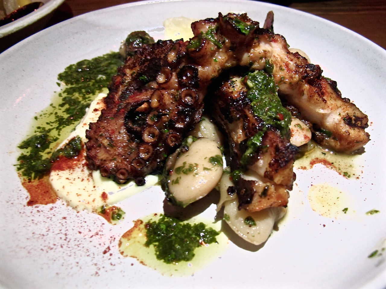 Hatchet Hall's octopus