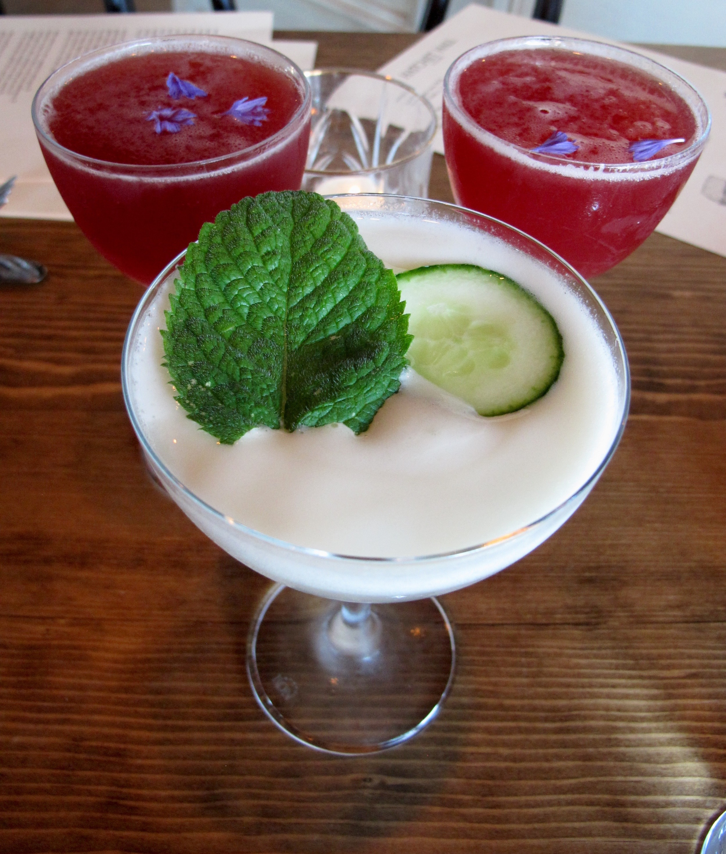 Hatchet Hall's cocktails