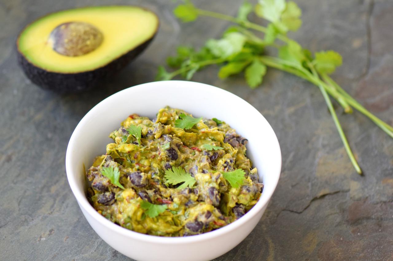 Chipotle Black Bean Guacamole | TastingPage.com