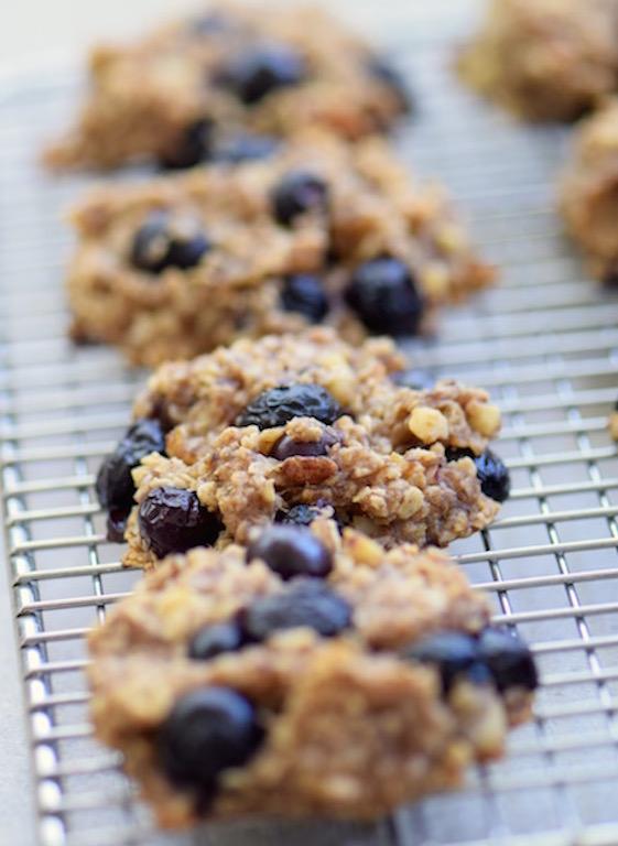 Banana Blueberry Cookies | Beanstalk Mums
