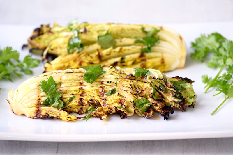 Asian Grilled Cabbage | TastingPage.com