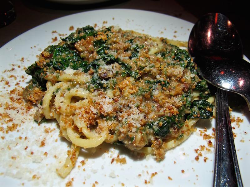 Love and Salt pasta