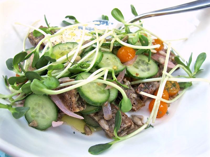 Esters panzanella salad