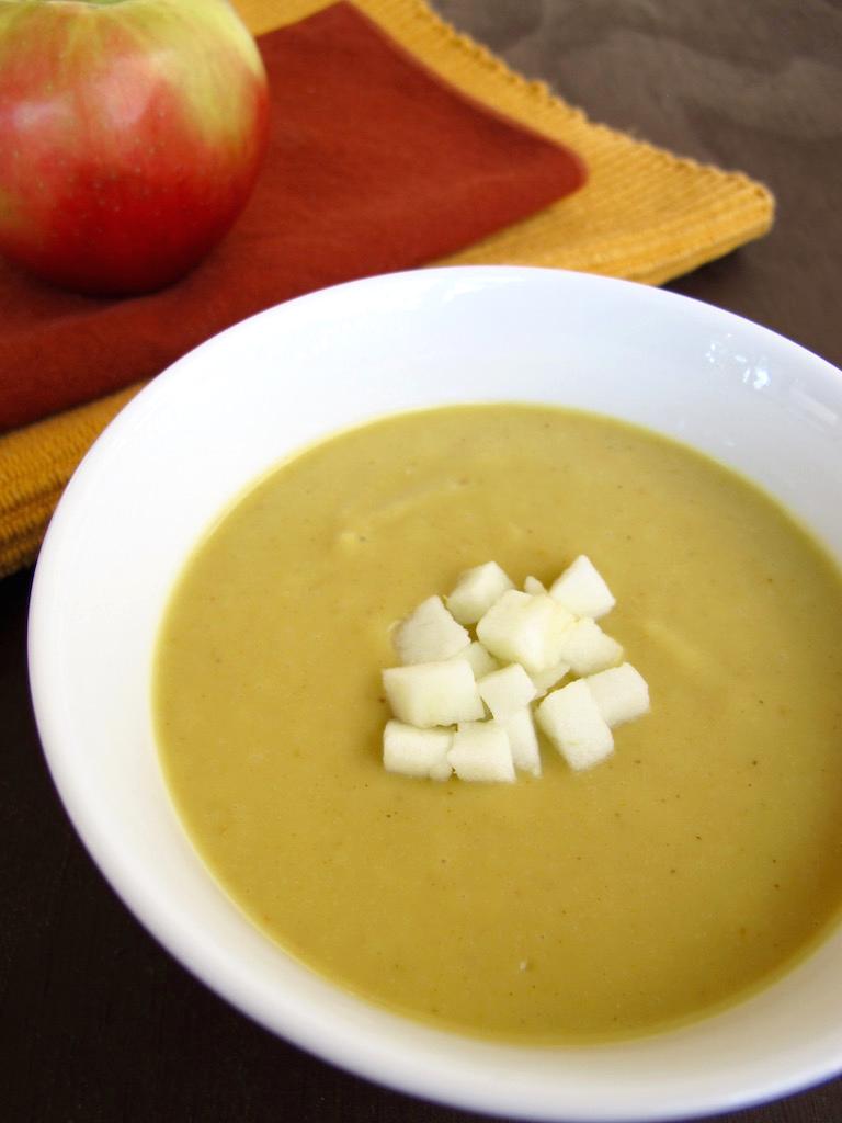 Creamy Sweet Potato Pumpkin Soup - Dairy Free | TastingPage.com