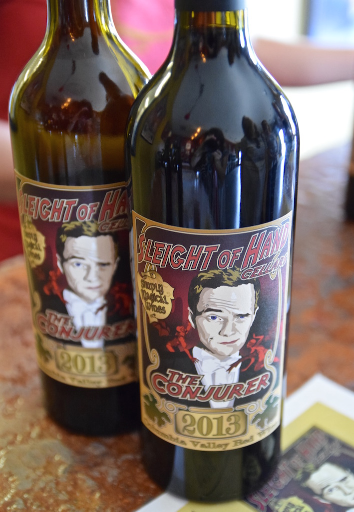 Sleight of Hand wine