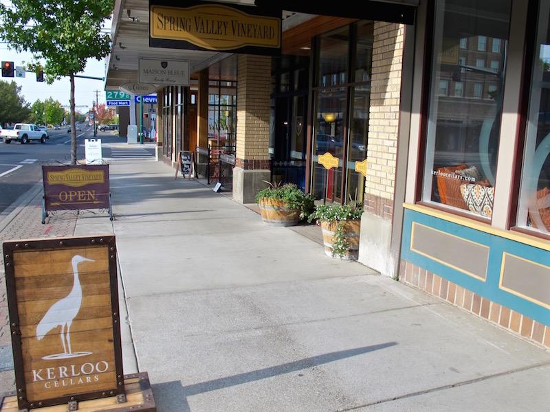 Walla Walla downtown tasting rooms