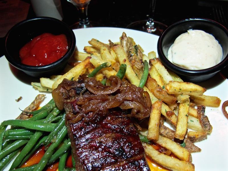 Vineyard Lounge flank steak