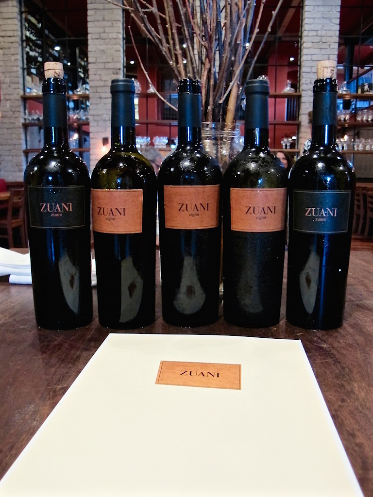 Zuani Italian wines