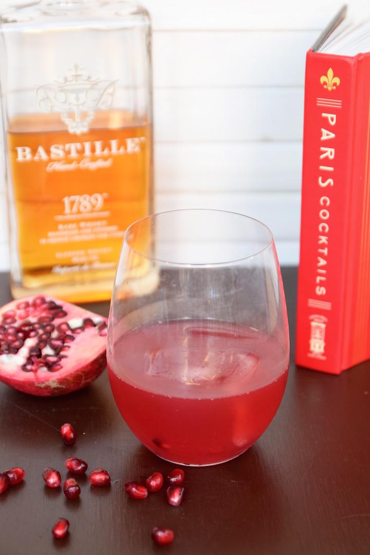 Pomegranate Whisky Cocktail Recipe | TastingPage.com