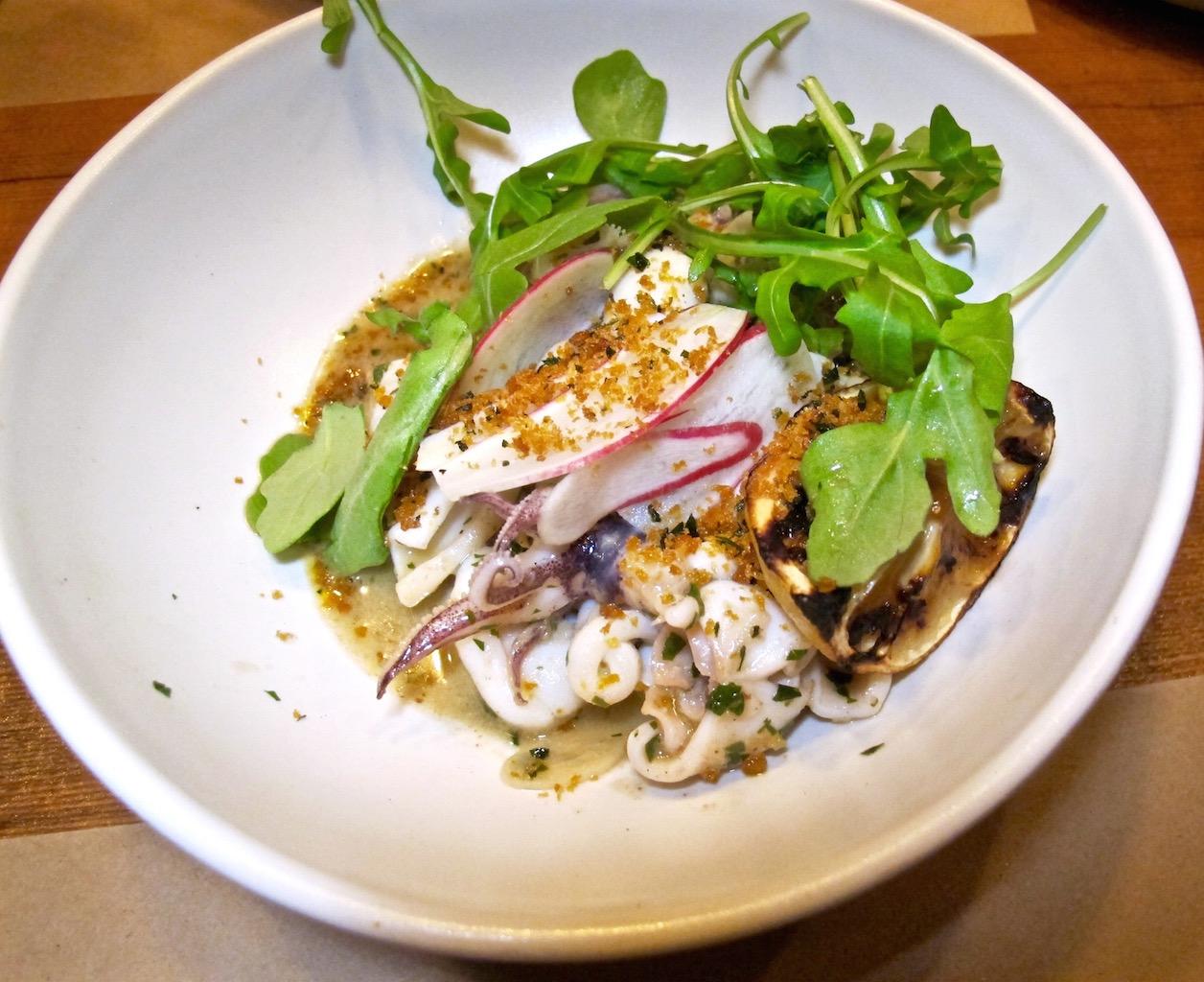 Local Kitchen and Wine Bar Calamari Plate
