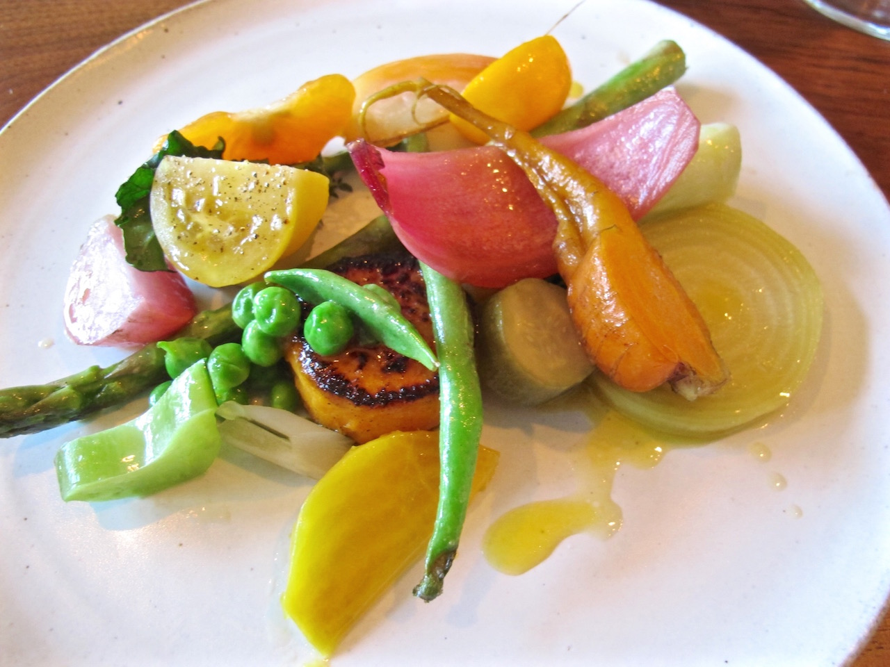Le Comptoir vegetables