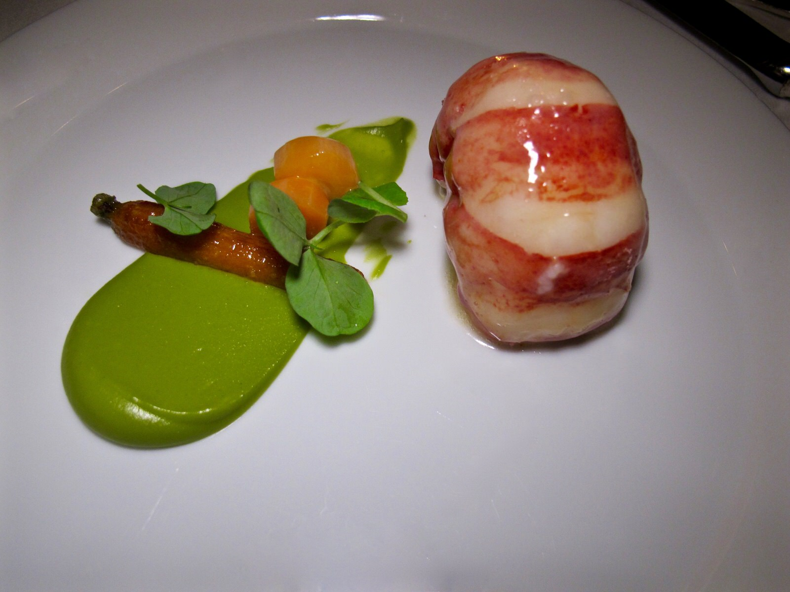French laundry lobster tail