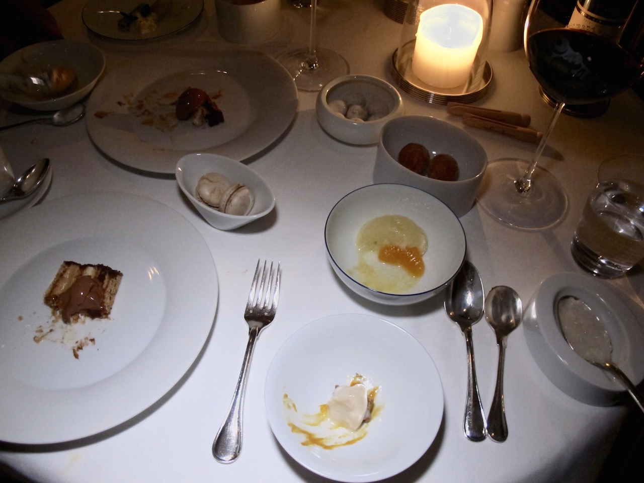 French Laundry dessert course