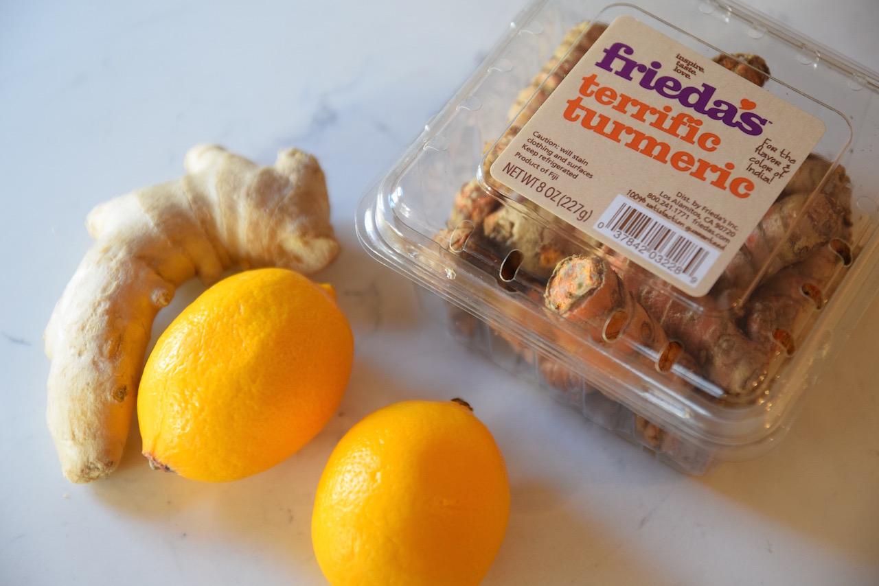 Anti-Inflammatory Lemon Turmeric Tonic — Tasting Page