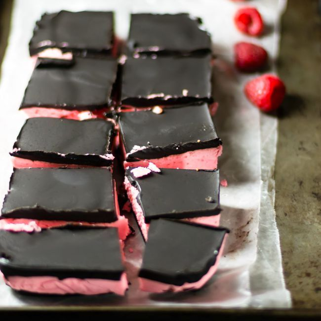 Chocolate Raspberry Candy Bars