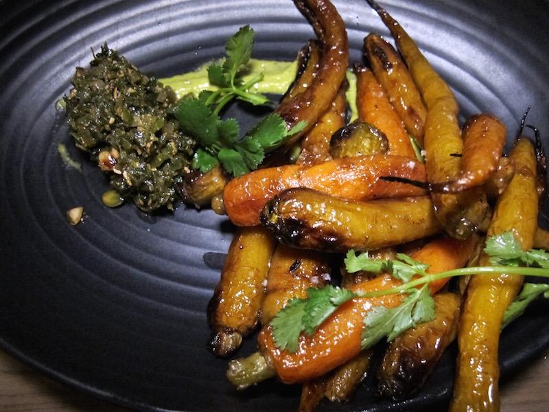 Otium's roasted carrots