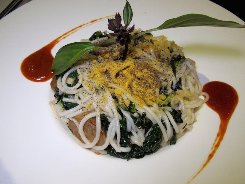 Au Lac veggie pasta