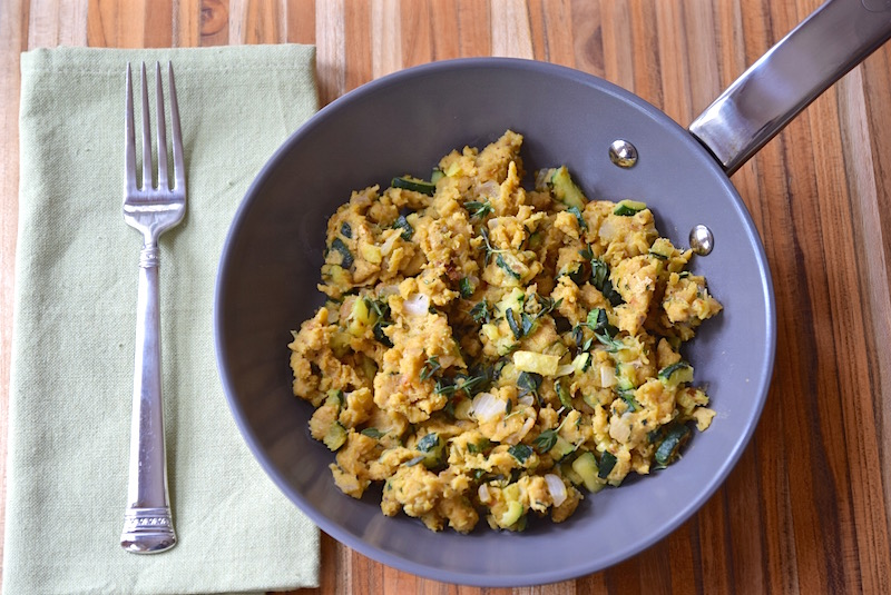 Chickpea Scramble | TastingPage.com