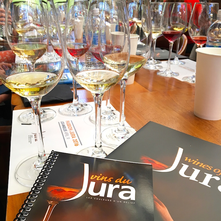 Jura wine tasting