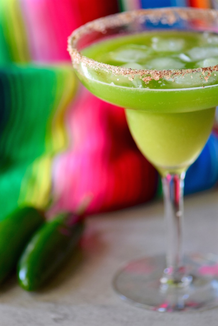 Jalapeno Cucumber Mint Margarita   TastingPage.com