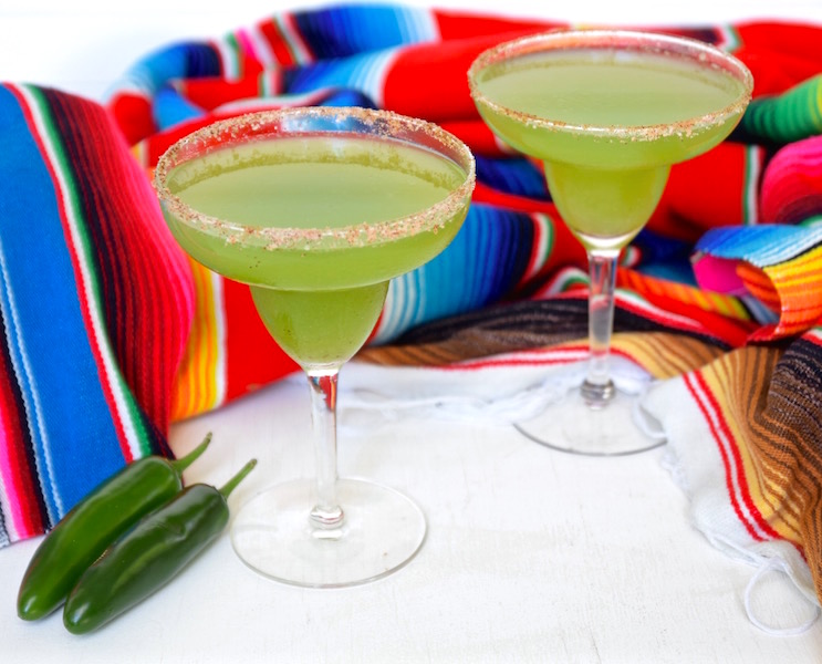 Spicy Cucumber Margarita   TastingPage.com